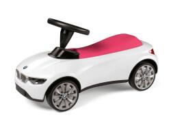 BMW Sparkbil vit rosa