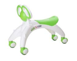 gåbil didicar baby walker grön