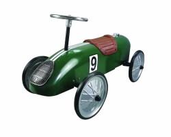 sparkbil grön retro