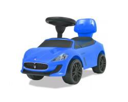 gåbil sparkbil maserati blå