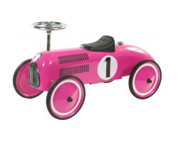 gåbil retro roller marilyn rosa