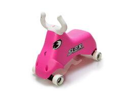 gåbil slex rodeo bull rosa