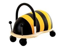 gåbil wheely bug bee humla stor large gul svart