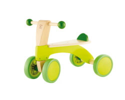 gåcykel gåbil hape grön