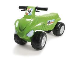 gåbil dantoy fyrhjuling grön