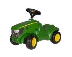 gåbil traktor grön john deere