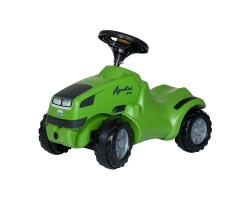 gåbil traktor grön rolly toys deutz agrokid