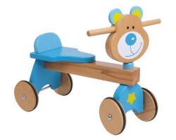 lära gå bil gåbil nalle björn blå