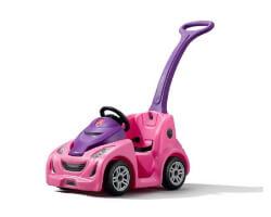 step 2 buggy gt åkbil rosa med handtag
