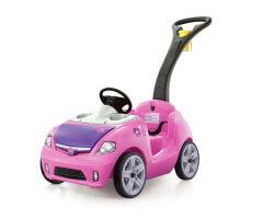 step 2 whisper II buggy rosa åkbil med handtag