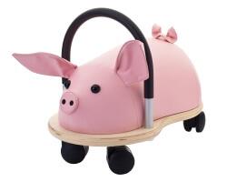 wheely bug gris rosa stor