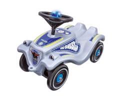 bobby car polisbil med ljud grå