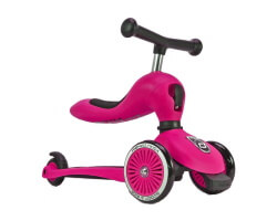 highwaykick 1 rosa scoot and ride 2 in 1