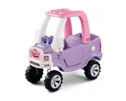 little tikes cozy truck princess gåbil utomhus lila
