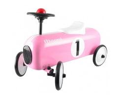 magni gåbil metall rosa med horns rosa