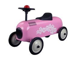 metal racer little pink car rosa sparkbil