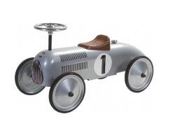 retro roller jean gåbil retrobil i metall grå