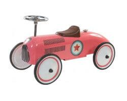 retro roller lara gåbil rosa