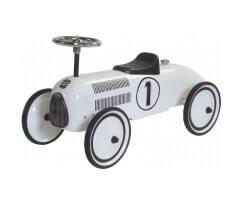 retro roller lewis vit gåbil