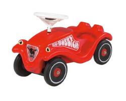 sparkbil classic bobby car röd