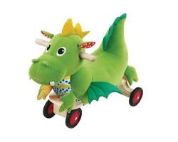 wonderworld loop auto dragon gåbil drake grön