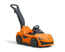 åkbil mclaren 570s pushing car step 2 orange