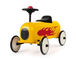 baghera racer gul flammor sparkbil