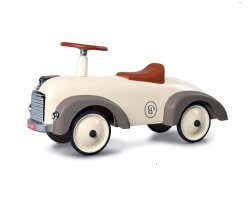 baghera speedster gåbil beige silk gray