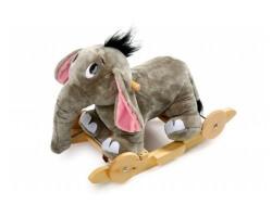 gåbil gunghäst 2 in 1 elefant grå