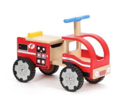 gåbil trä brandbil loop auto fire