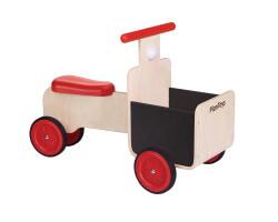 gåbil trä plantoys - delivery bike