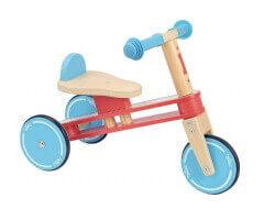 gåbil trä vilac trehjuling cykel