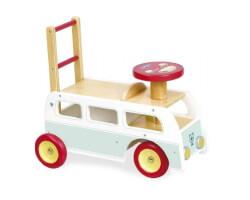 gåbil trä vilac wagon retro buss