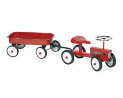 goki traktor - tractor with trailer
