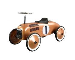 sparkbil brun-koppar magni gåbil retro