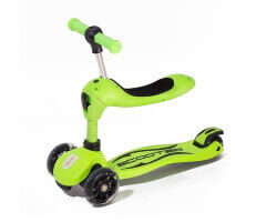 twix scooter 2 in 1 grön