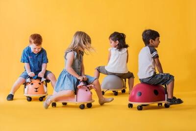 wheely bug olika djur barn gåbil