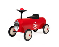 baghera racer röd sparkbil