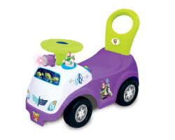 gåbil disney toy story lila ride on