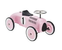 mini speeders gåbil racer - rosa
