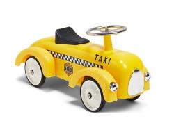 mini speeders gåbil taxi gul
