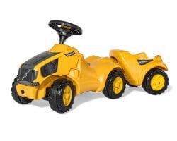 gåbil traktor volvo rolly toys mintrac